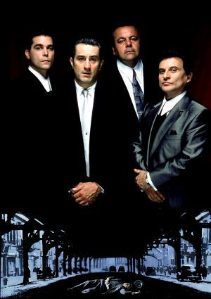 Joe Pesci, Ray Liotta, Robert De Niro and Paul Sorvino in Goodfellas (1990)