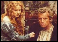 Flesh+Blood Rutger Hauer and Jennifer Leigh in  (1985)