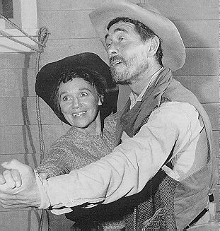 Ken Curtis Ken with Jeanette Nolan