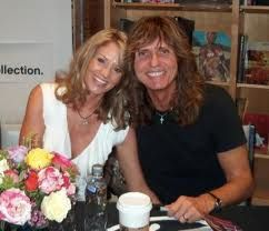 David Coverdale and Cindy Coverdale David and Cindy