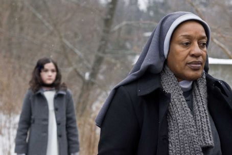 CCH Pounder (L-R) ISABELLE FUHRMAN as Esther and CCH POUNDER as Sister Abigail in Dark Castle Entertainment's horror thriller 'Orphan,' a Warner Bros. Pictures release. Photo courtesy of Warner Bros. Pictures