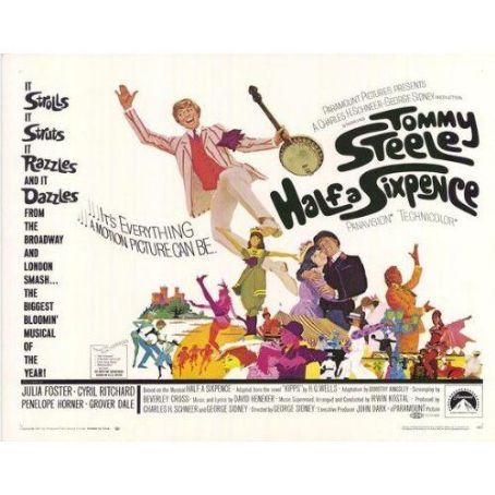 Grover Dale Half a Sixpence 1968 Movie