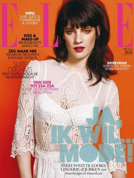 Querelle Jansen - Elle Magazine Cover [Netherlands] (May 2011)