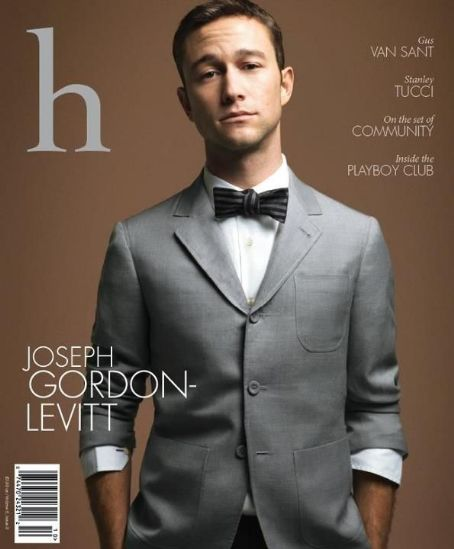 Joseph Gordon-Levitt - H Magazine Cover [United States] (September 2011)