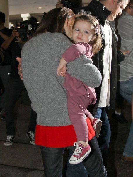 Harper Beckham Arriving On A Flight At LAX
