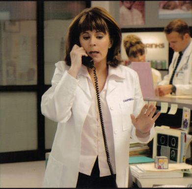 Patricia Richardson  on Strong medicine