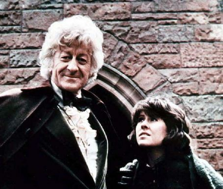 Elisabeth Sladen Jon Pertwee as the third incarnation of The Doctor and Elisabeth Salden as Sarah Jane Smith in the science-fiction series Doctor Who (1970-1974)