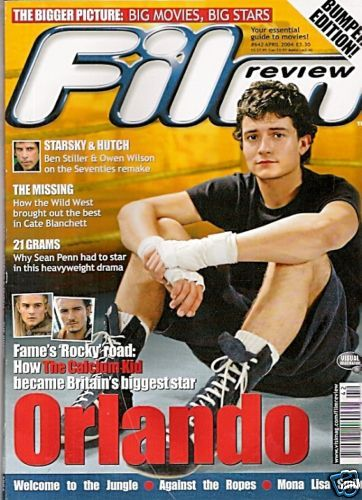 Orlando Bloom - Film Review Magazine [United Kingdom] (April 2004)