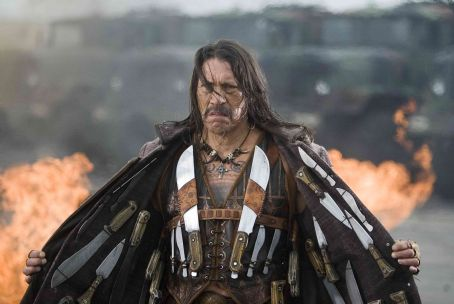 Danny Trejo  is Machete in Robert Rodriguez's Machete. Photo by: John Sandau. Courtesy of Dimension Films.