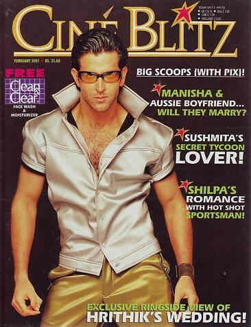 Hrithik Roshan Magazine Cover Photos - List of magazine covers366
