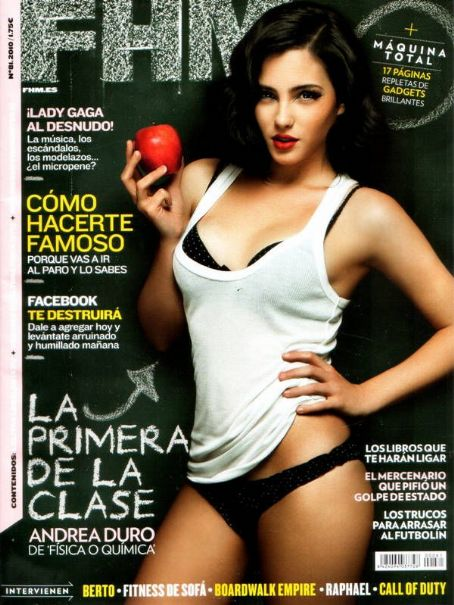 Andrea Duro  FHM Spain December 2010