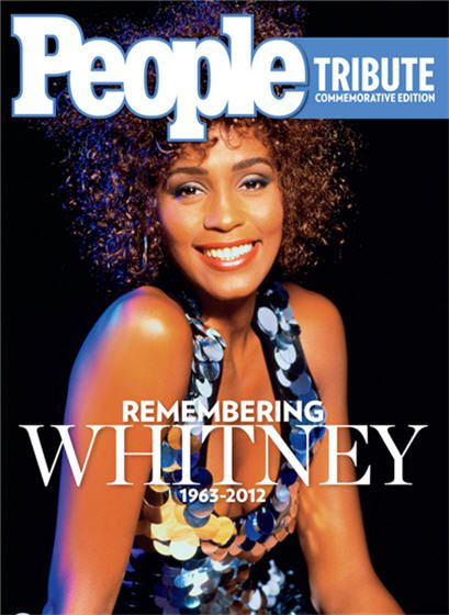 Whitney Houston - People Magazine Cover [United States] (February 2012)