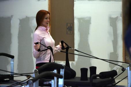 Marcia Cross - A Pilates Class - 26 May 2008