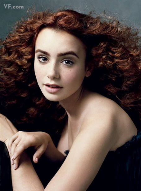 Lily Collins Teen Girls Vanity Fair US February 2010
