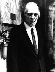 Angus Scrimm  in his role as the Tall Man in Phantasm