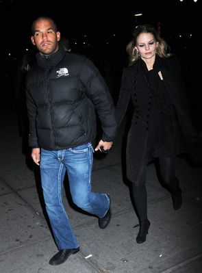 Amaury Nolasco and Jennifer Morrison