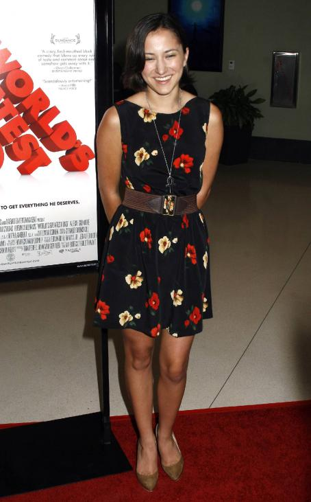 Zelda Williams - Premiere Of Magnolia Pictures' 'World's Greatest Dad' At The Landmark Theater On August 13, 2009 In Los Angeles, California