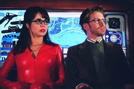 Velma Linda Cardellini and Seth Green in Scooby-Doo 2: Monsters Unleashed - 2004