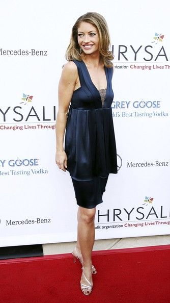 Rebecca Gayheart arrives at Chrysalis' 5th Annual Butterfly Ball at the home of Fred and Carla Sands on June 10, 2006 in Los Angeles