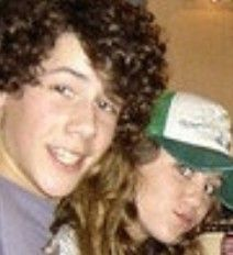 Hannah Montana Miley Cyrus and Nick Jonas