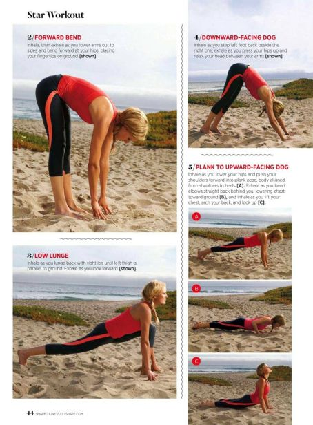 Malin Akerman - Shape Magazine Pictorial [United States] (June 2012)