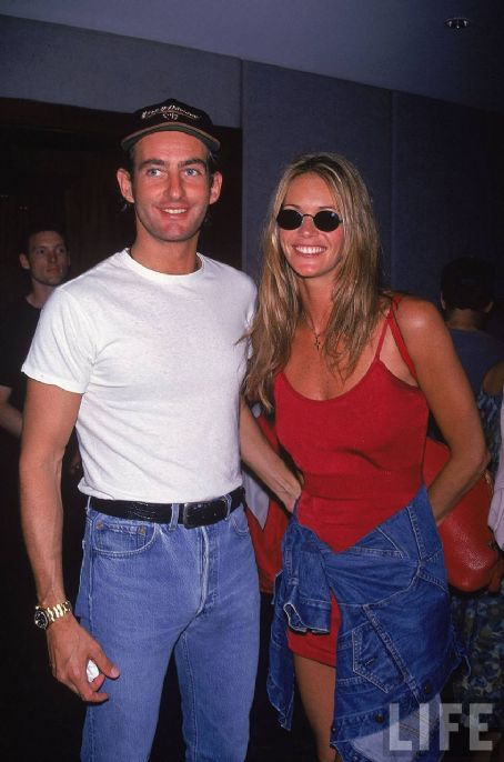 Tim Jefferies Elle Macpherson and