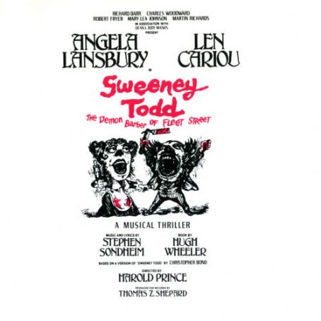 Len Cariou 1979 LP JACKET OF ''SWEENEY TODD'' CAST ALBUM.