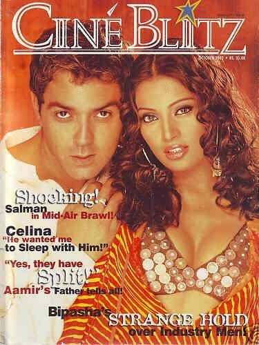 Bobby Deol - Cinéblitz Magazine [India] (October 2002)