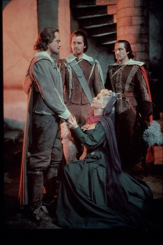 Van Heflin The Three Musketeers