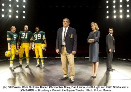 Dan Lauria With cast of Lombardi