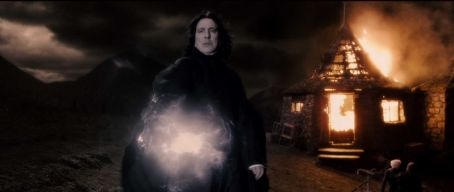 Severus Snape ALAN RICKMAN as Professor  in Warner Bros. Pictures' fantasy adventure 'Harry Potter and the Half-Blood Prince.' Photo courtesy of Warner Bros. Pictures