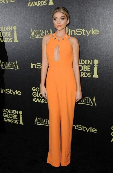 Sarah Hyland wears Giulietta - The Hollywood Foreigh Press Association & InStyle Celebrate the 2015 Golden Globe Awards