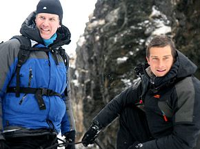 Bear Grylls  & Will Farrell