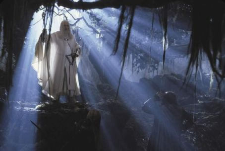 Gandalf Ian McKellen as  in New Line's The Lord of The Rings: The Two Towers - 2002