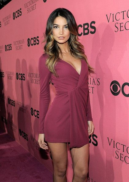 Lily Aldridge: arrives at the 2011 Victoria's Secret Fashion Show Viewing Party at the Samueli Theater, Segerstrom Center for the Arts