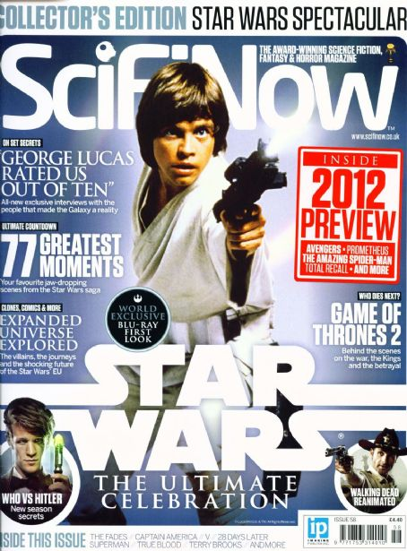 Mark Hamill - Scifinow Magazine Cover [United Kingdom] (August 2011)