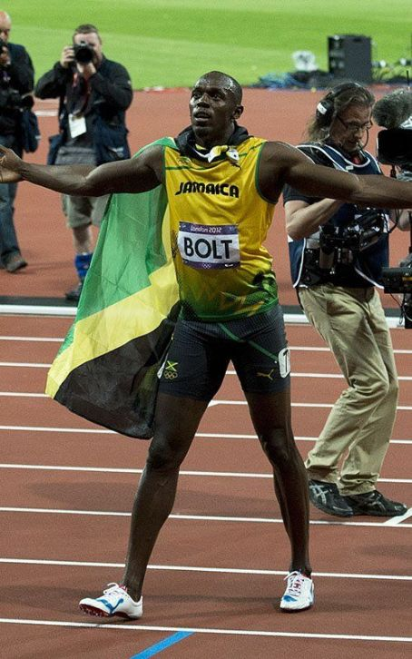 """World's Fastest Man"" Usain Bolt Scores Olympic Record"