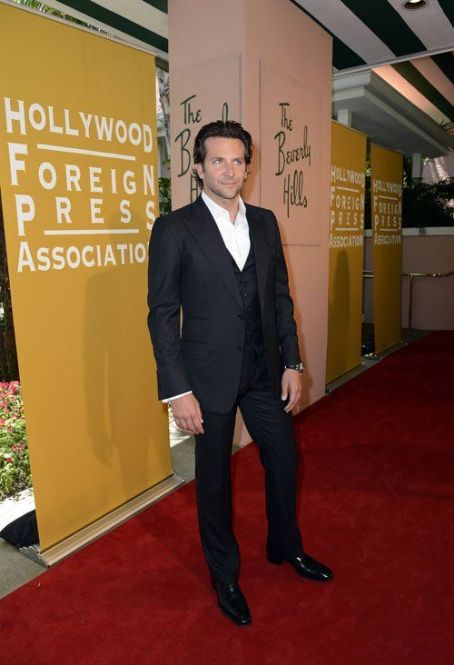 Bradley Cooper - Hollywood Foreign Press Association's Installation Luncheon (August 9)