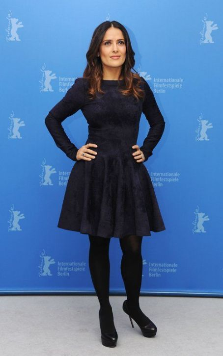 Salma Hayek Takes Over The Berlinale Spotlight