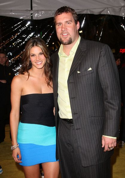 Ben Roethlisberger Missy Peregrym and  Photograph
