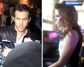 Ryan Reynolds Kristen Stewart on Ryan Reynolds And Kristen Stewart News Feed