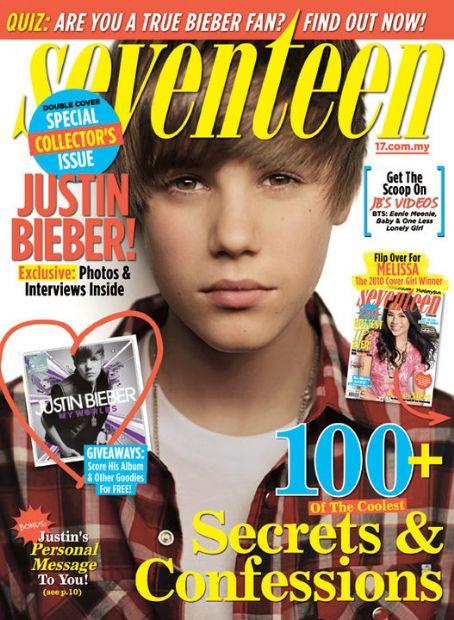 Justin Bieber - Seventeen Magazine [Malaysia] (October 2010)