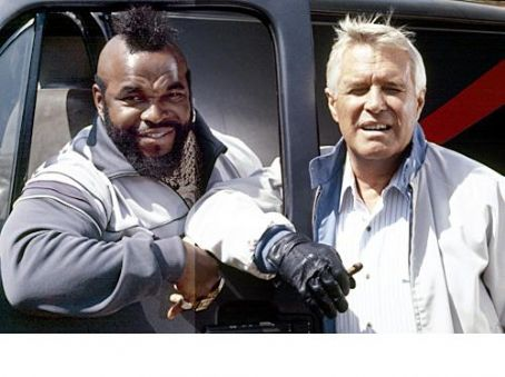 Mr. T George Peppard &