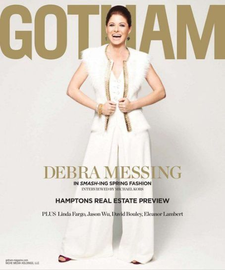 Debra Messing: the March 2012 issue of Gotham magazine