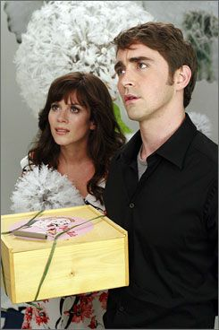 Pushing Daisies Anna Friel and Lee Pace