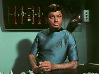 DeForest Kelley  in Star Trek
