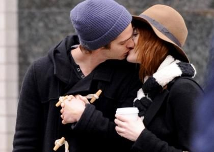 Emma Stone & Andrew Garfield's PDA-Packed Big Apple Outing