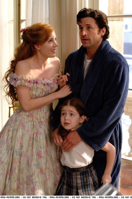 Enchanted Amy Adams and Patrick Dempsey
