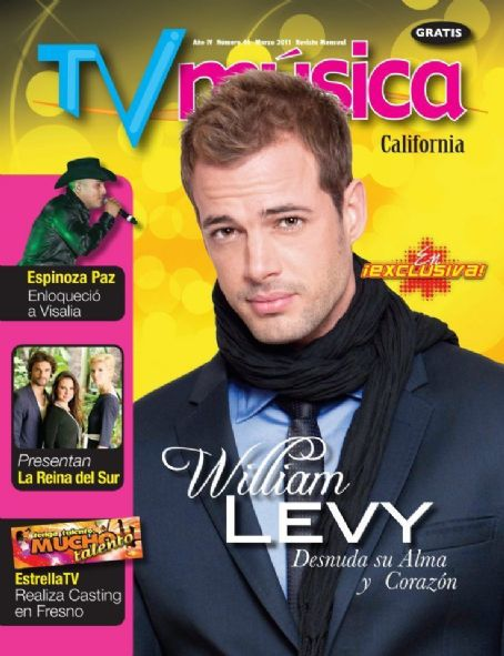 William Levy - TV Musica Magazine Cover [United States] (March 2011)