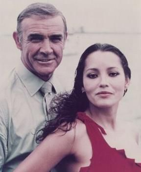Never Say Never Again Sean Connery and Barbara Carrera in  (1983)